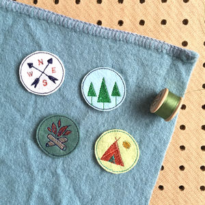 Embroidered Adventure Merit Patch Set
