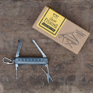 Personalised Fishing Multi Tool - for sports fans
