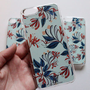 Honeysuckle Print Case For iPhone