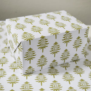 Christmas Personalised Wrapping Paper