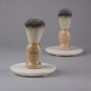 Personalised Shaving Brush - shaving