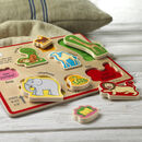 Personalised Dear Zoo Animal Puzzle 12m+
