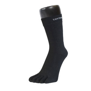 Wool Mid Calf Toe Socks - socks
