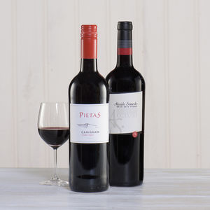 Red Wine Lover's Two Bottle Gift