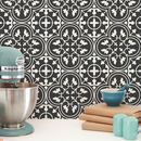 Moroccan Grey Tile Stickers Set Pack Of 24
