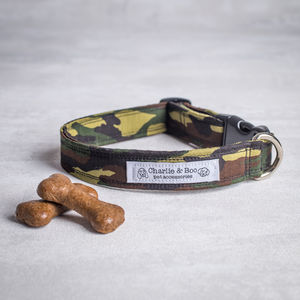 Camouflage Dog Collar For Boy And Girl Dogs