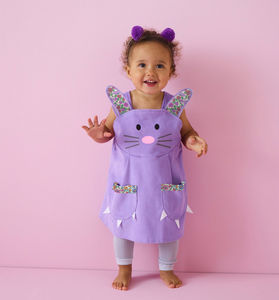 Easter Bunny Rabbit Dress With Liberty Print Ears - clothing