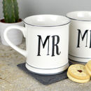 Mr And Mr Mug Set