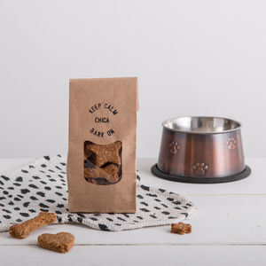 Keep Calm, Bark On Handmade Dog Treats, Personalised - shop by recipient