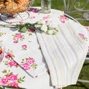 Helmsley Blush Alfresco Cotton Table Linen Collection