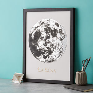 La Luna Silver Full Moon - personalised