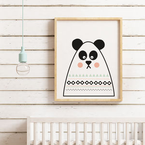 Panda Print - pictures & prints for children