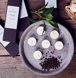 Spice Night Box Of Five Luxury Aromatherapy Tea Lights - whatsnew