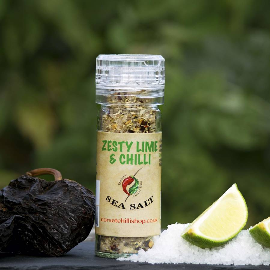 Zesty Lime And Chilli Sea Salt