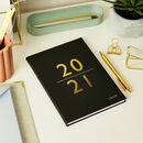 Personalised Renew 2021 Cloth Diary