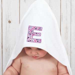 Personalised Liberty Baby Towel