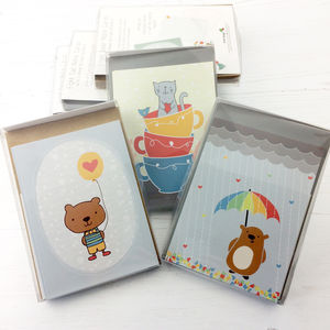 Cute Notecards With Stickers - shop by category