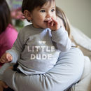 Little Dude Baby Sweatshirt