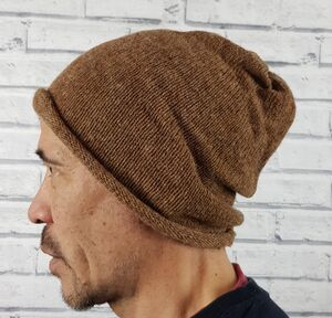 Eco Friendly Beanie Hat Browns