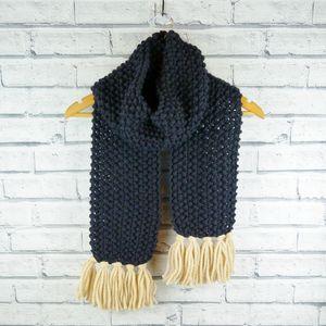 Merino Wool Chunky Knit Scarf
