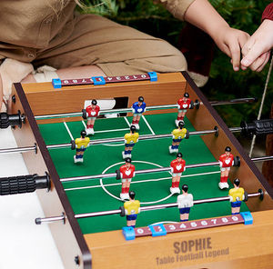 Personalised Table Top Football Game - games & sports