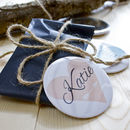 Personalised Pocket Mirror Favour Sets