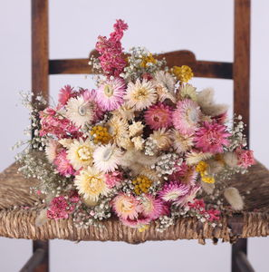 The Bartestree Dried Flower Posy