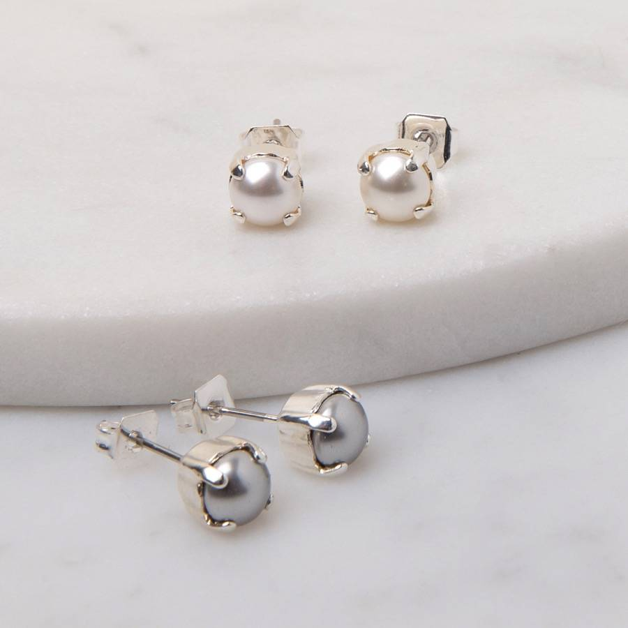 rubover small at gold white products diamond buy stud earrings