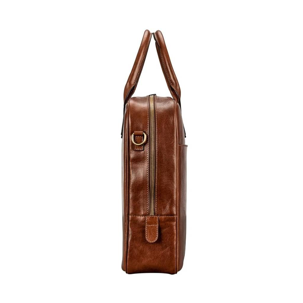 57dc9361dfb5 luxury leather laptop bag for macbook.  the calvino  by maxwell ...