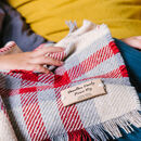 Personalised Checked Picnic Rug