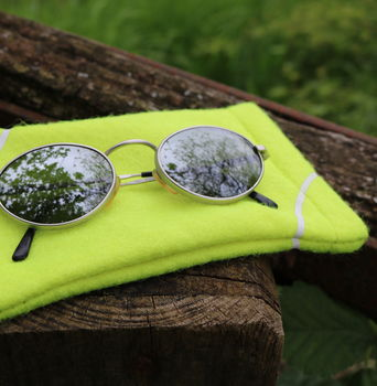 Tennis Ball Sunglasses Case