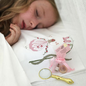 Girls Personalised Tooth Fairy Letter Gift