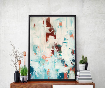 Abstract 31 Limited Edition Fine Art Print A4 Size