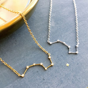 Delicate Constellation Star Necklace