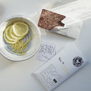 Lemon Chocolate - new in food & drink