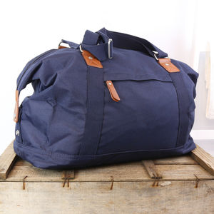 Vintage Weekend Bag - holdalls & weekend bags