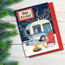 Cosy Christmas Caravan Card