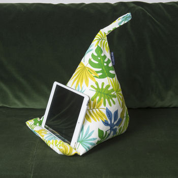 Bean Bag Cushion Tablet Stand In Jungle