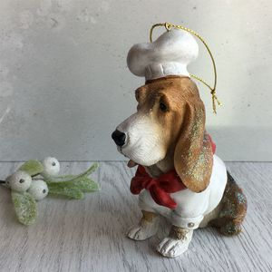 Chef Dog Christmas Decoration
