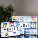 Personalised Photo Cinema Lightbox