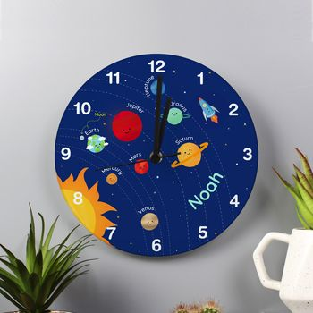 Personalised Solar System Clock