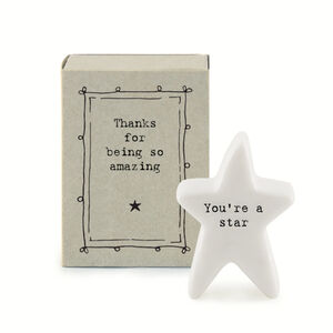 Letterbox Porcelain Thank You Keepsake Gift