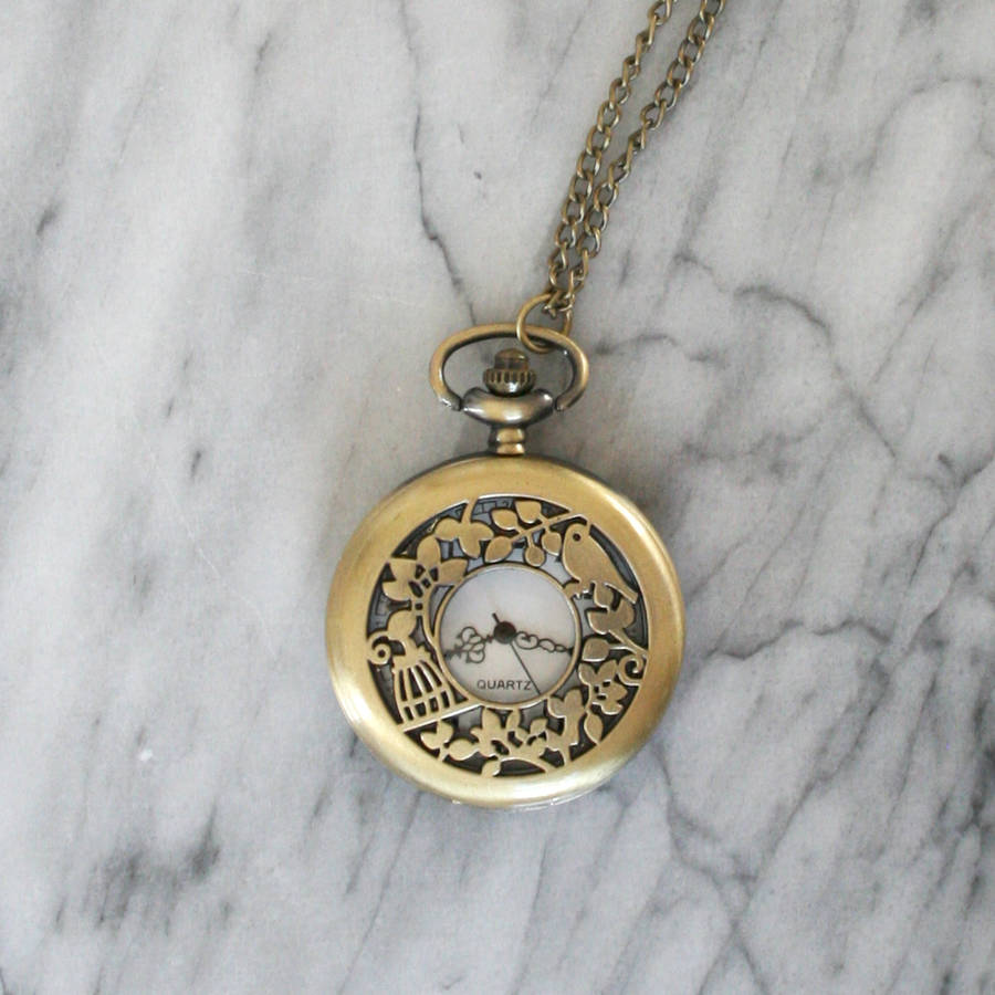 wing steampunk elehm snitch watch harry necklace itm quidditch potter clock pocket pendant