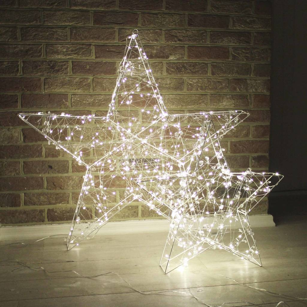 Beaded LED Box Star Light
