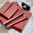 Personalised Distressed Handmade Leather Photo Album
