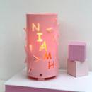 Baby Pink Personalised Star Night Light