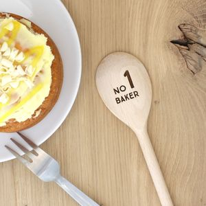 Personalised Wooden Spoon - wooden spoons