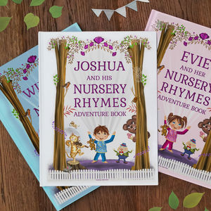 Personalised Nursery Rhymes And Poems Book - gifts for babies & children sale
