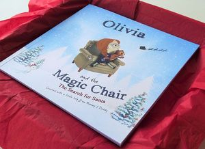 Personalised Christmas Book: Search For Santa - toys & games