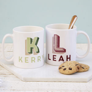 Personalised Carnival Letter Mug - new in home
